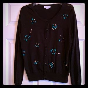 Super cute cardigan with bead detailing